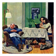 After Dinner  John Philip Falter  When life was much simpler