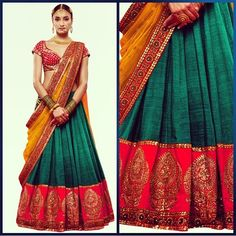Sabyasachi for inspiration