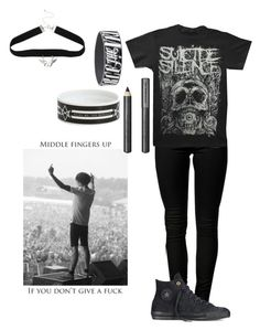 """""""Untitled #444"""" by punk-rock-dreamer ❤ liked on Polyvore featuring ONLY, Converse, Burberry, women's clothing, women's fashion, women, female, woman, misses and juniors"""