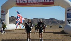 Second day complete  Sir Ranulph Fiennes has battled through the second gruelling stage of the Marathon des Sables. The 19 mile route took him just under eight hours. #runranrun