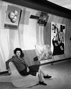 Peggy Guggenheim, 1942