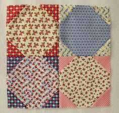 TBT Snowball | Petals and Pins - Traditional Block Thursday Tutorial by Penny Rose Fabrics