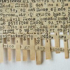 Weaving Text.  This is so cool, but would be VERY time consuming.  #journal