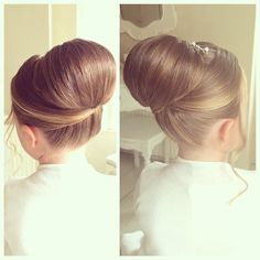 1000+ images about Hairstyles , Bun ,Loving  Simple,Easy Updos on Pinterest