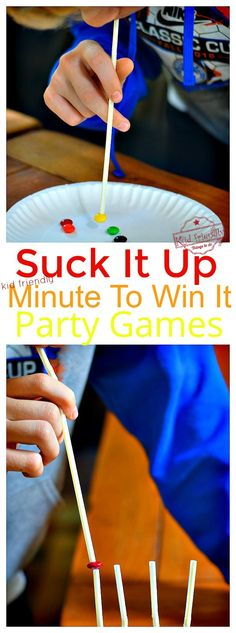 10 Awesome Minute to Win It Thanksgiving Games for Kids to Play - *Kid Friendly - Minute To Win It Party Games - Indoor Party Games, Easy Party Games, Family Party Games, Teen Party Games, Slumber Party Games, 80s Party, Party Party, Teen Games, Beach Party