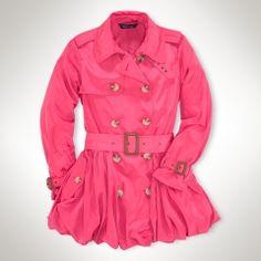 Trench coat sizes 7-16