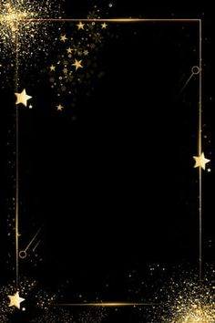 Fundo de convite de fronteira dourado de negócios minimalista preto Preto Simples Negócio Convite Borda dourada Fundo do halloween backgrounds 504