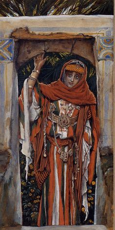 James Jacques Joseph Tissot (1836-1902)  Mary Magdalene before Her Conversion  Gouache  1886-1894