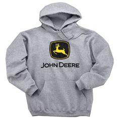 John Deere Sport Grey Sweatshirt