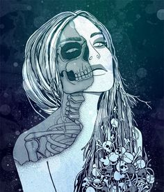 In Norse mythology, Hel is a being who presides over a realm of the same name, where she receives a portion of the dead.