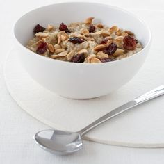 Oatmeal made with steel-cut oats has a great nutty flavor and nubby texture and can be made in advance. If you soak the oats overnight, they cook in just 10 minutes.