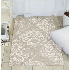"""Charlton Home Portleven Taupe/Ivory Area Rug Rug Size: 2'3"""" x 3'9"""""""