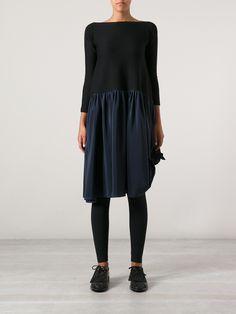 Daniela Gregis - comfortable dress + leggings