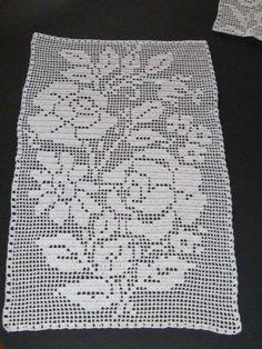 Crochet filet: Fotos de diseños  (20/41) | Ellahoy