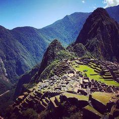 Beautiful Machu Picchu, Peru. @info_peru