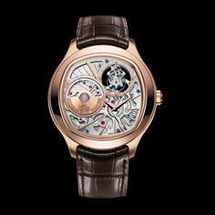 Rose Gold Ultra-Thin Tourbillon Watch G0A38042 - Piaget Luxury Watch Online