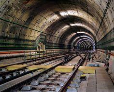 Underground Landscapes – Photographier les tunnels des métros du monde entier