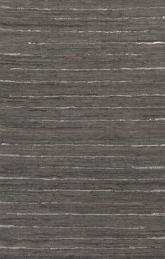 100% leather hand woven Anthracite rug from Surya- reversible and made from recycled materials! (ATE-8001)
