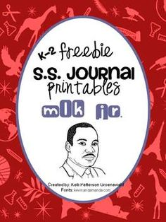 K-2 journal prompts for MLK day