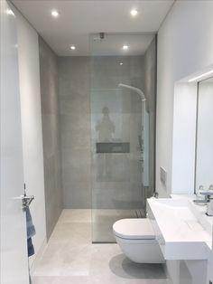 Small Bathroom Layout, Modern Small Bathrooms, Minimalist Bathroom Design, Bathroom Design Luxury, Best Bathroom Designs, Bathroom Ideas, Bathroom Inspiration, Bathroom Beadboard, Loft Office