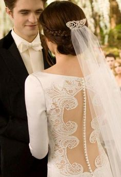 We all loved the Twilight wedding !