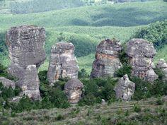 Cidade de Pedra - Bairro da Palmeirinha. Sengés - Paraná. http://www.senges.pr.gov.br/site/turismo