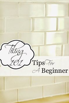 How To Tile Like A Pro.....Your First Time