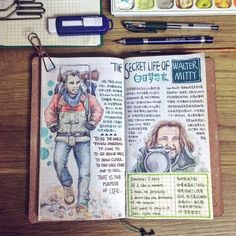 Movie Journal: The Secret Life of Walter Mitty - Just stop dreaming, and start living. I love it so much when Kristen plays and sings Space Oddity with Mitty in one of his daydreams, which grants him great courage and hope!