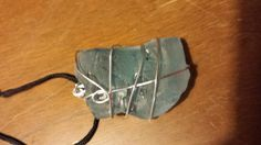 Hey, I found this really awesome Etsy listing at https://www.etsy.com/listing/196482591/wire-wrapped-seaglass-necklace