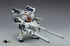 GUNDAM GUY: RX-121-1+FF-X29A Gundam TR-1 (Hazel-Rah) - Custom Build
