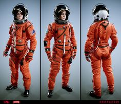 ArtStation - Observation - Emma Fisher and flightsuit, Ranulf Busby Major Tom, Astronaut Suit, Space Fashion, Female Protagonist, Nasa, Space Girl, Sci Fi Characters, Science Fiction Art, The Martian