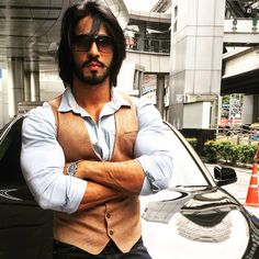 Pinned onto Mens Fashion Board in Mens Fashion Category Indian Bodybuilder, Indian Fashion, Mens Fashion, Style Fashion, Dressing Sense, Hair And Beard Styles, Stylish Men, Gorgeous Men, Style Guides