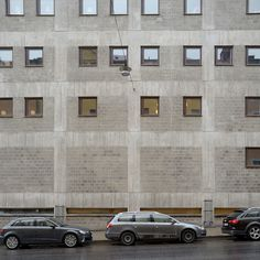 Gunnar Henriksson: Arkitekturskolan KTH (today: A House Stockholm), 1967–1969