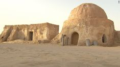 The planet Tatooine has two suns and was the birthplace of Anakin Skywalker. By request of the Tunisian government, the set for Anakin Skywa...