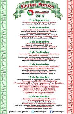 Fiestas Patrias Piedras Negras 2015 | FERIAS DE MÉXICO