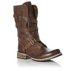 BANDDIT SM - Strappy Biker Boot brown