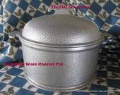 Guardian Ware, Vintage 1940's 1930's Service Ware ROUND PAN  Aluminum Century Metalcraft Corp 76c