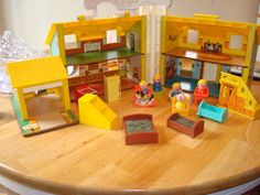 1969 vintage fisher price doll house -legend in our house.