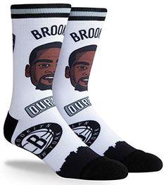 PKWY Unisex NBA Team Player Number Crew Socks