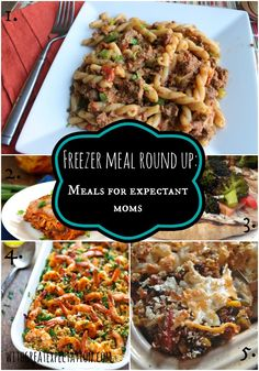 {Freezer Meals for Expectant Moms…Plus, Foods to Avoid when Breastfeeding} | With Great Expectation