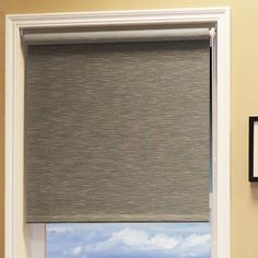 Found it at Wayfair - Candyfloss Natural Woven Roller Blind Sheer Roller Blinds, Best Blinds, Craftsman Trim, Bamboo Shades, Beautiful Curtains, Shades Blinds, Casement Windows, Roller Shades