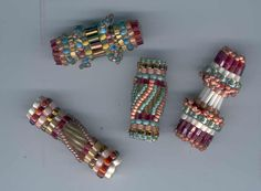 Beaded Beads tubular bugle bead - picture only