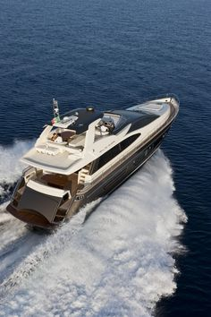 External view Riva Yacht, 75' Venere Luxury Superyacht of Ferretti.