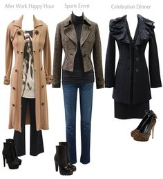 Co-ordinate your winter wardrobe with beautiful coats.