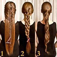 liindos peinados con trenzas :)