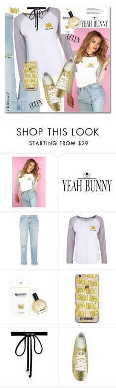 """""""Queen"""" by svijetlana ❤ liked on Polyvore featuring Yeah Bunny, Current/Elliott, Joomi Lim, Yves Saint Laurent, queen and YeahBunny"""