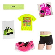 """just wear it NIKE"" by mercedes-medina ❤ liked on Polyvore"
