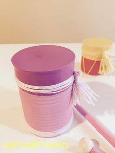 Creare tamburelli con barattoli di latta