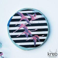 Ahoy Trader Porthole Flamingo 1 $130 AUD