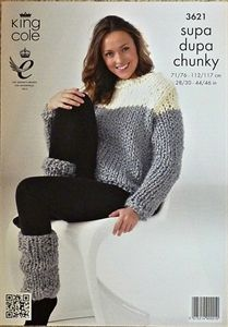 Super Chunky Jumper Knitting Pattern : 1000+ images about Knitting Patterns Adult Clothes on Pinterest Chunky knit...